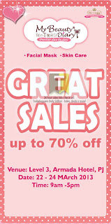 My Beauty Diary Great Sales 2013
