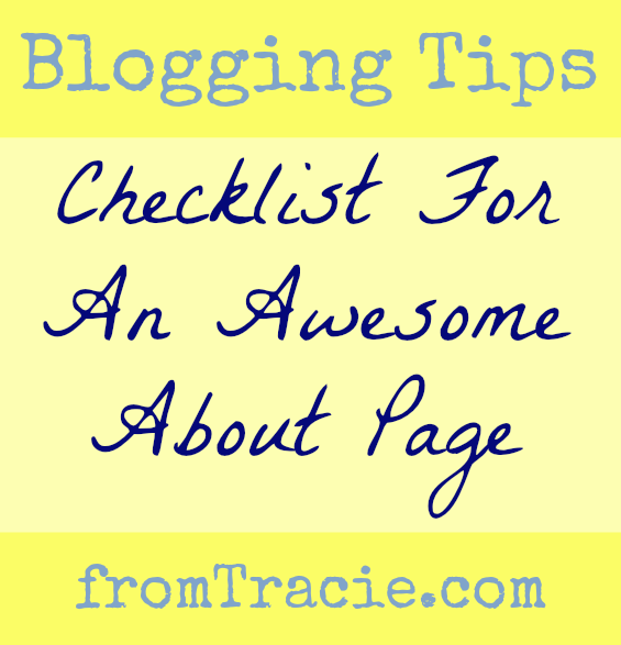 Checklist For Writing An Awesome About Page