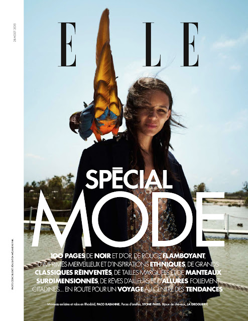 Fashion Model @ Binx Walton - Elle France, August 2015