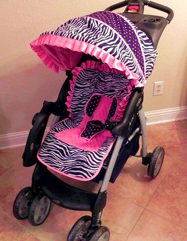 Small Sprouts Custom Small Sprouts Stroller Cover