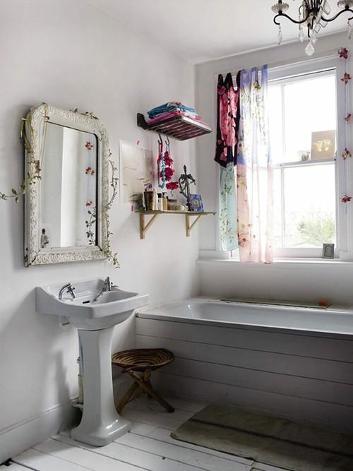 Querido Refúgio  Blog de decoração Ideias para espelho de banheiro  Belas  -> Decoracao Banheiro Boho