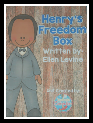 See how Henry's Freedom Box can be used in your upper elementary classroom over on Comprehension Connection.