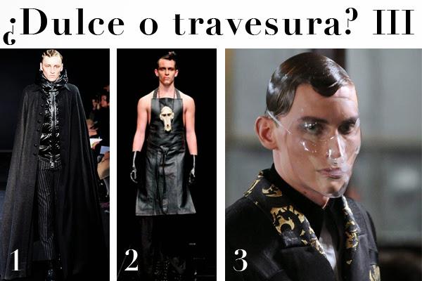 Dracula, Alexander Macqueen, Les hommes, botox, disfraz
