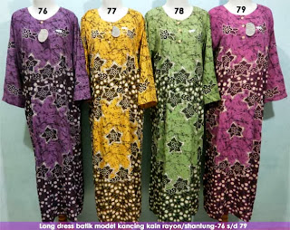 Long-dress-batik-pekalongan