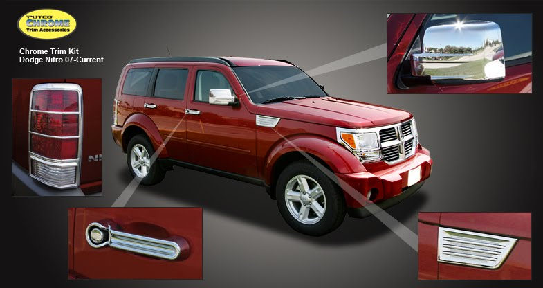 2012 dodge nitro chrome accessories. Cars Review. Best American Auto & Cars Review