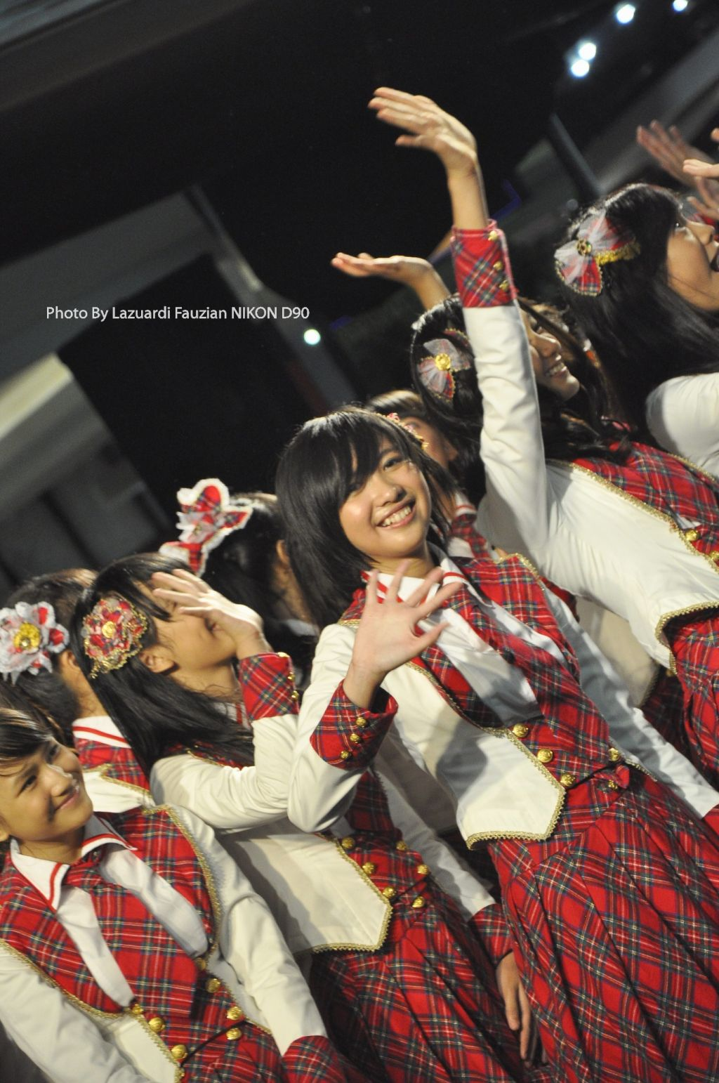 Ghaida JKT48 at launching MV heavy rotation
