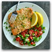 Herb-Crusted Dijon Salmon