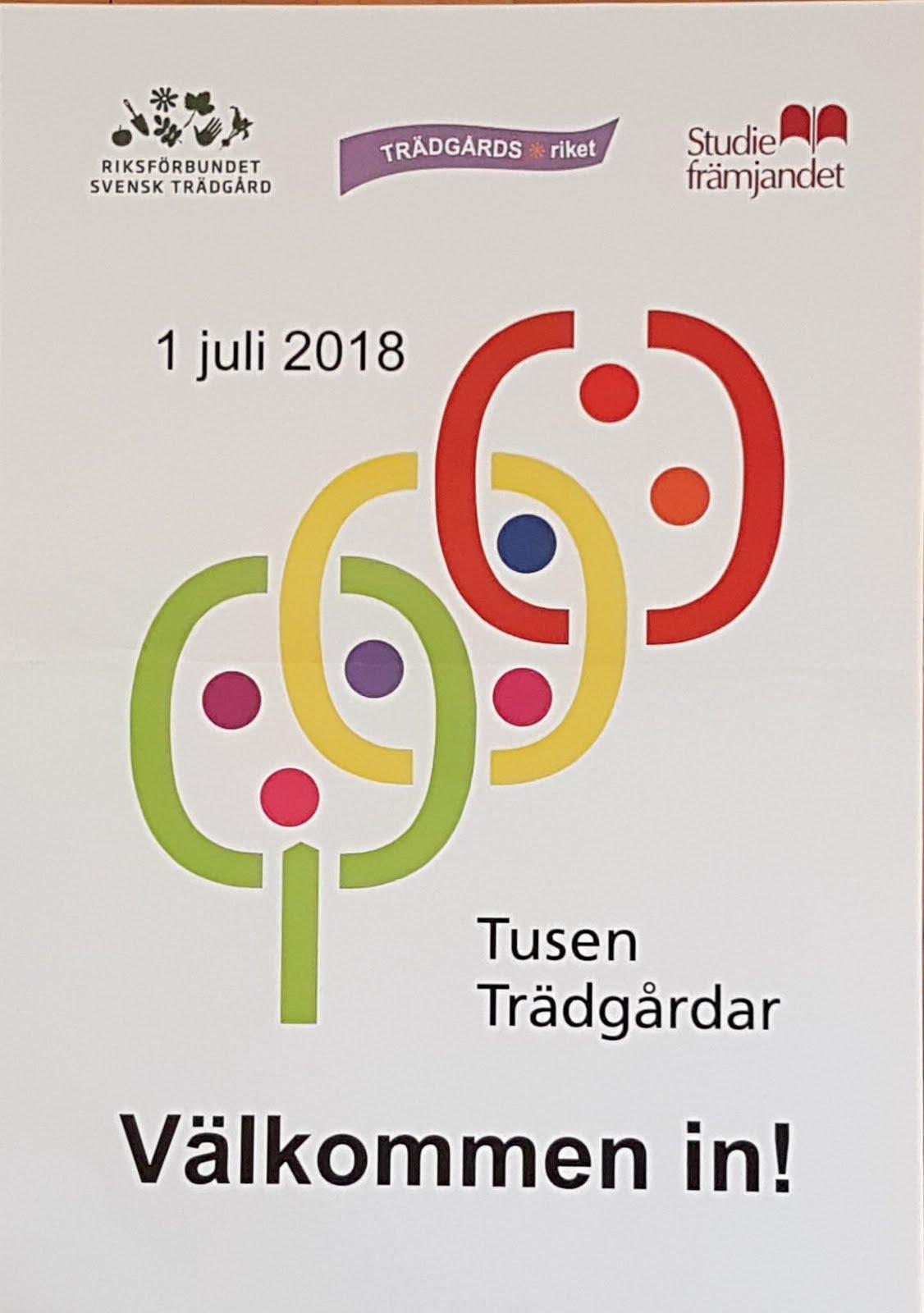 Tusen Trädgårdar 2018