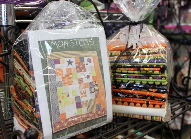 Fabric Mill:  Monster Quilt Kit