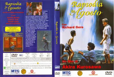 Carátula:  Rapsodia en agosto (Rhapsody in August) (1978)