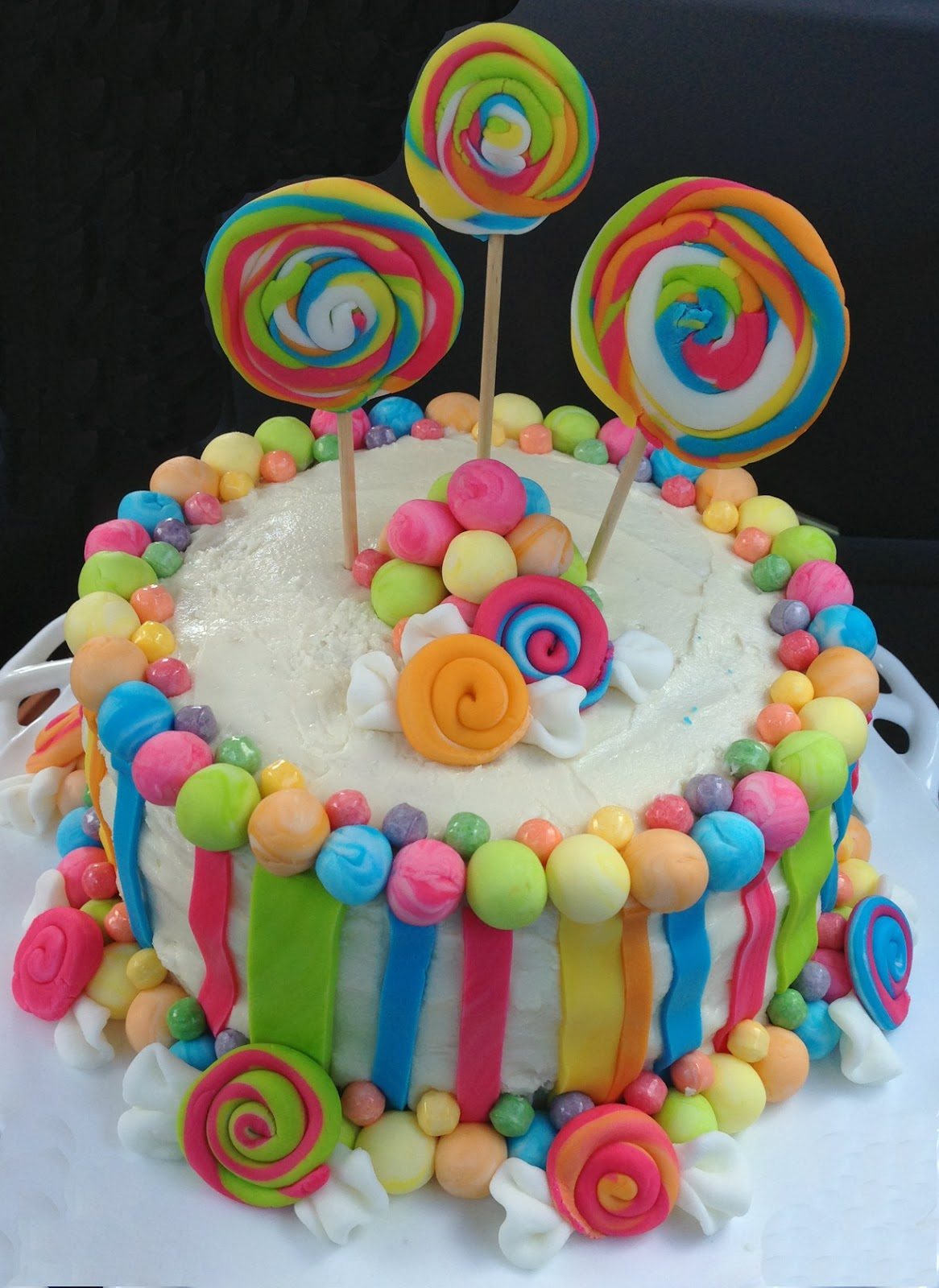 Candy Crush Cake Decorations