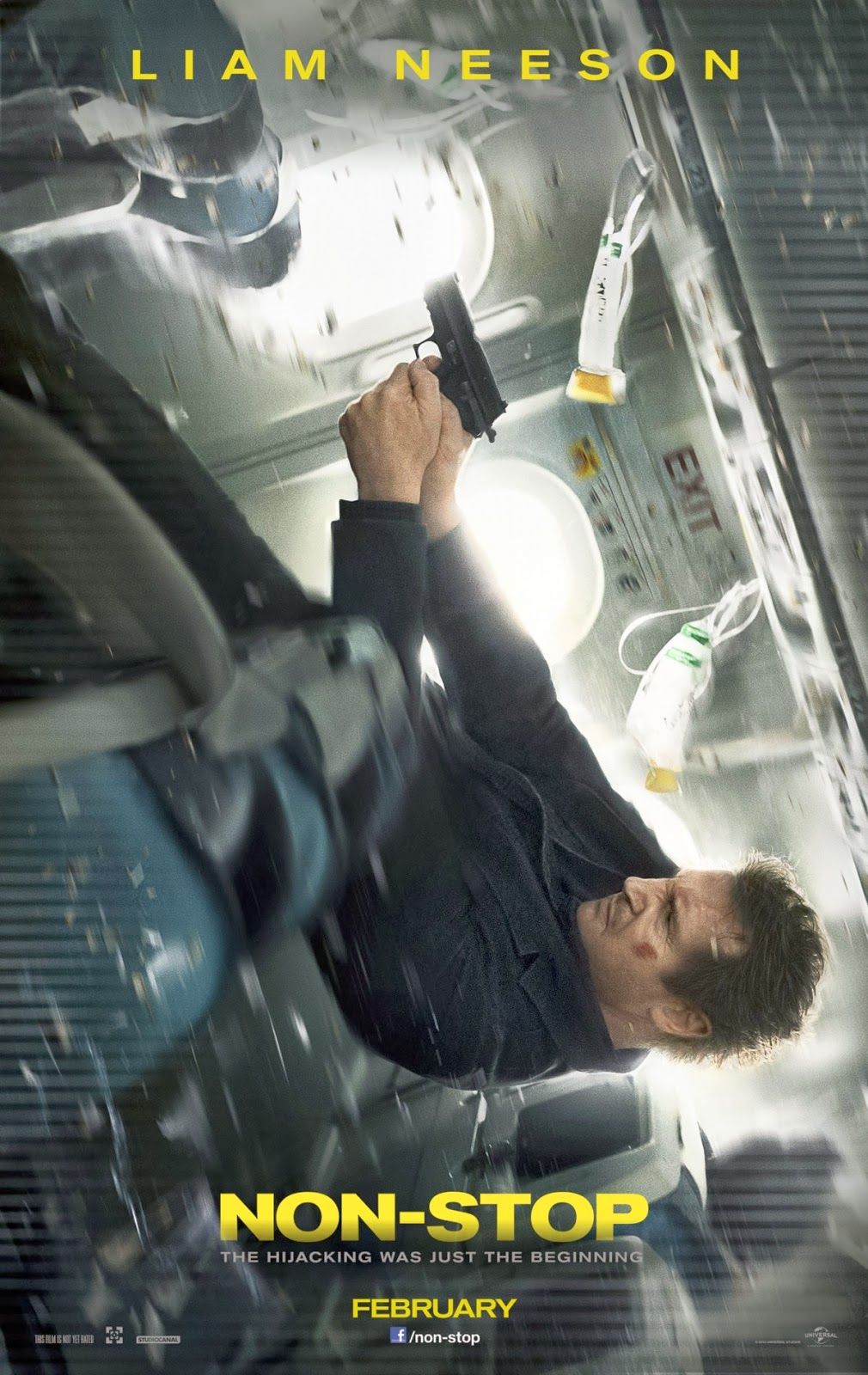 Non-stop movie review Liam Neeson