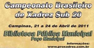 Campeonato Brasileiro sub 20 absoluto e feminino