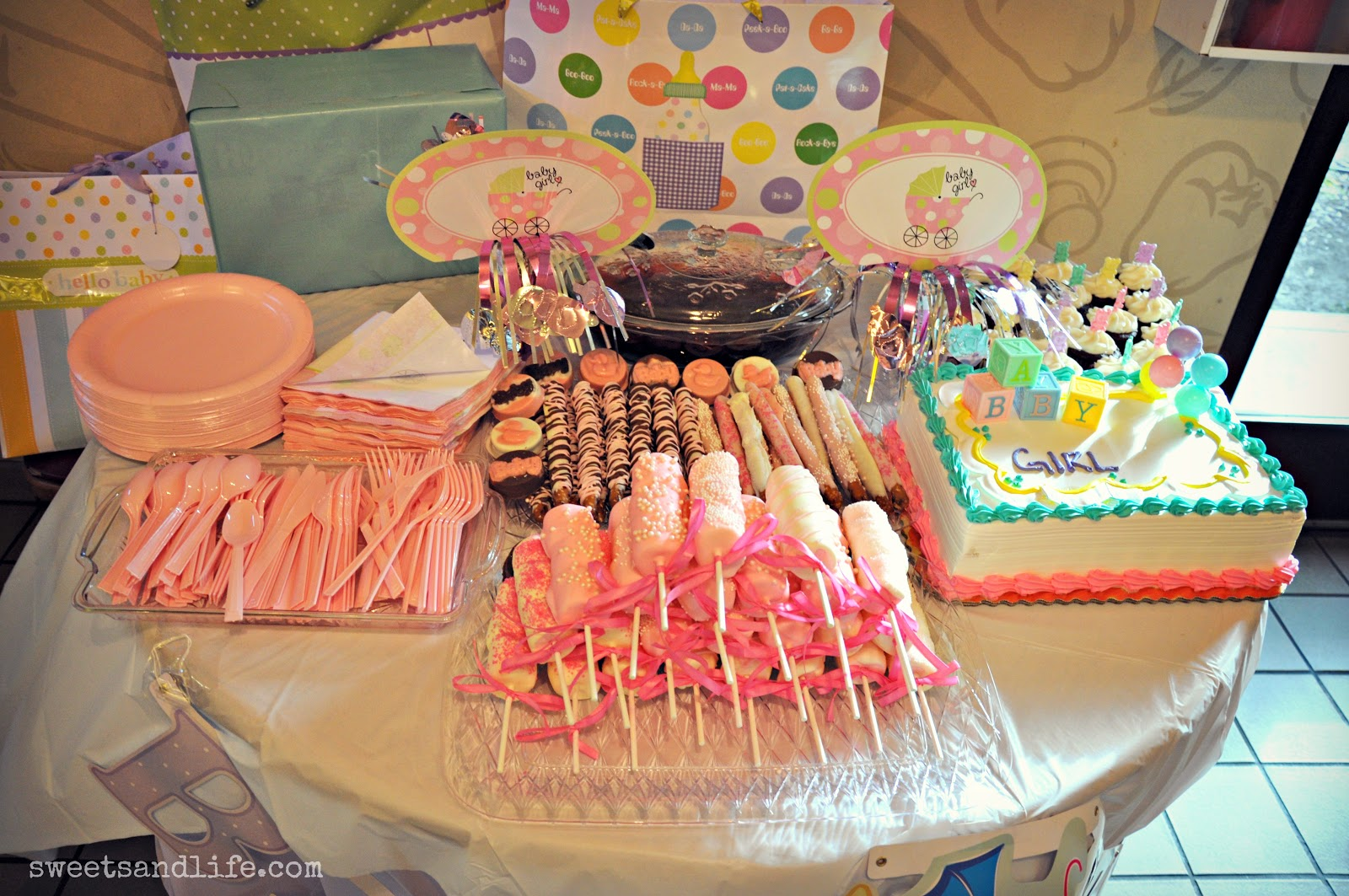 We Had A Baby Shower