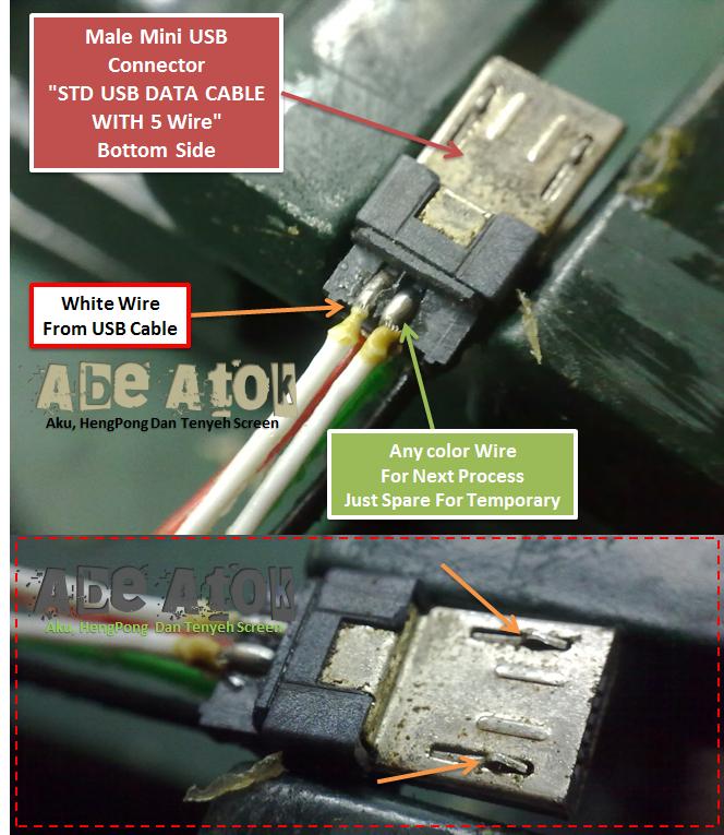 Aku, HENG Pong dan Tenyeh Screen.: Buat USB JIG Guna USB ...