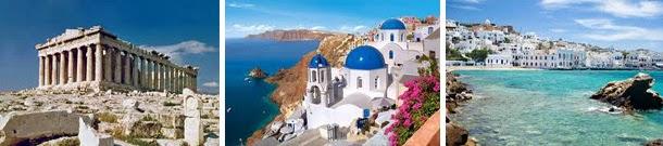 Casamento - viagem internacional de lua-de-mel - Grécia - Mykonos - Santorini
