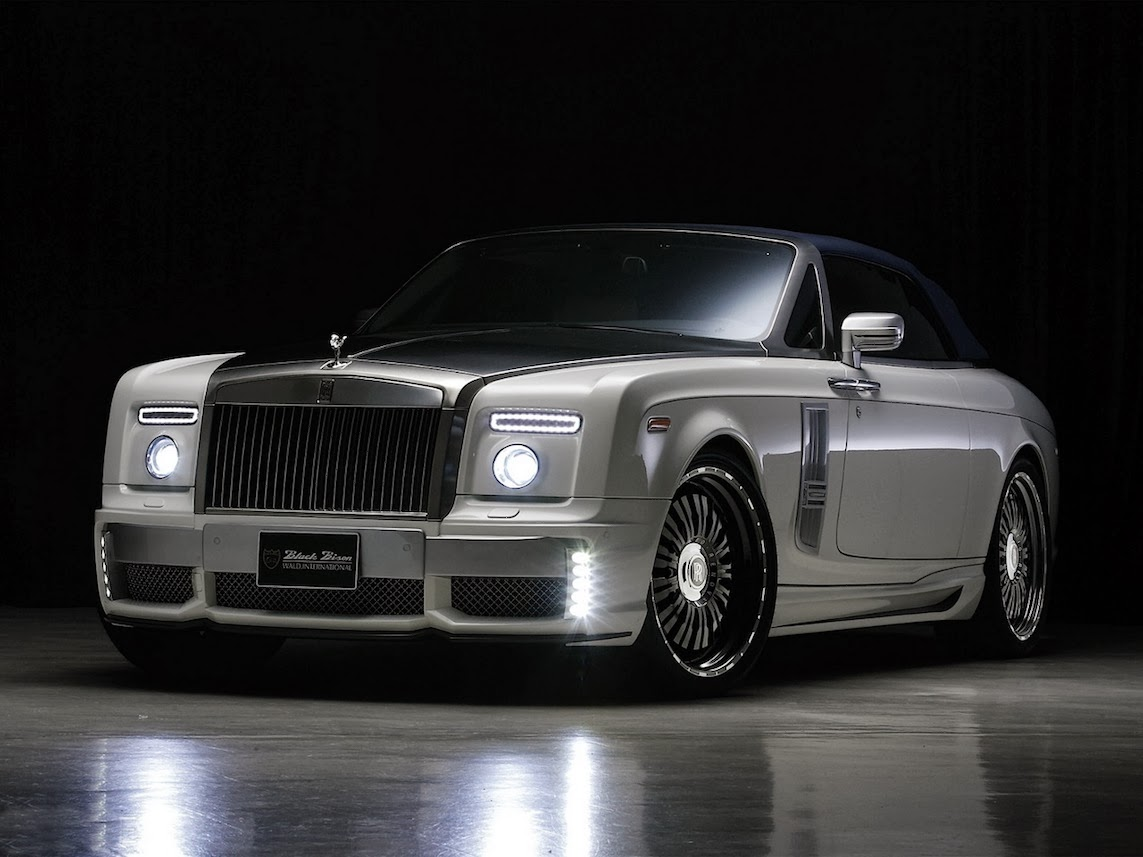 fab wheels digest f w d 2012 rolls royce phantom drophead coupe black bison edition by wald. Black Bedroom Furniture Sets. Home Design Ideas