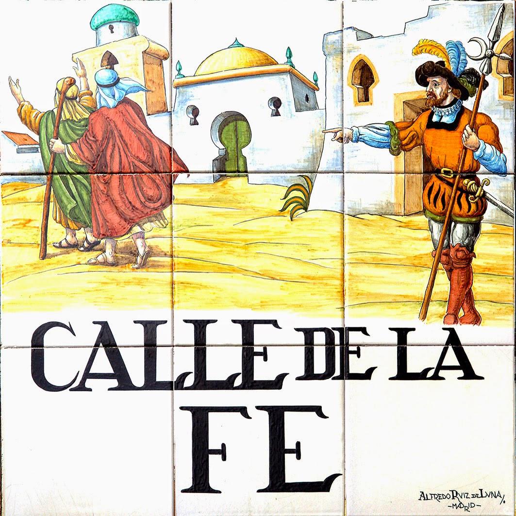 Calle de la Fe