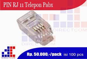 PIN RJ 11 Telepon