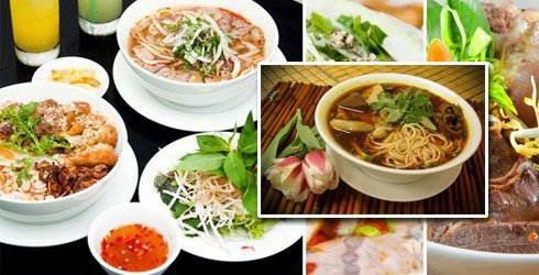 (Bun Bo Hue) - Hue Style Beef Noodle Soup