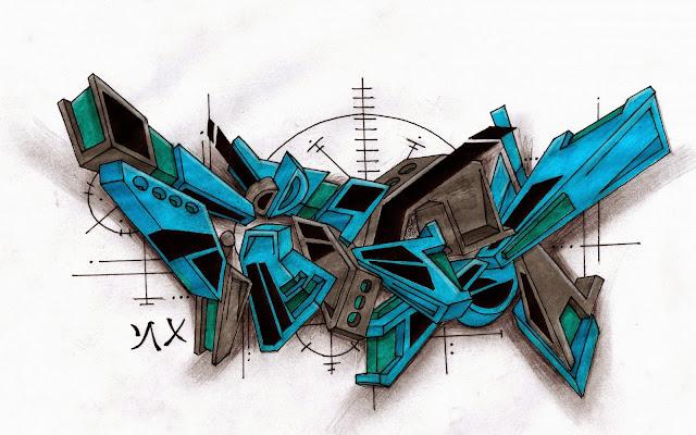 Lindos Graffitis en 3D