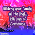 Christmas wishes for family online / Free Christmas wishes card