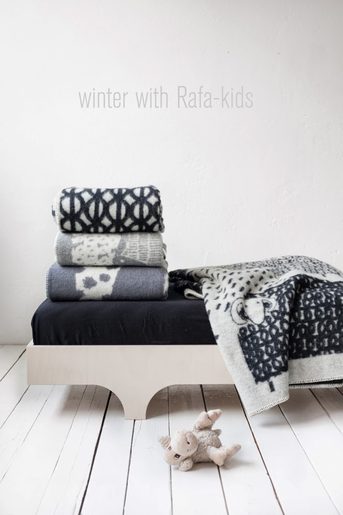 wool Scandinavian blankets collection Rafa-kids