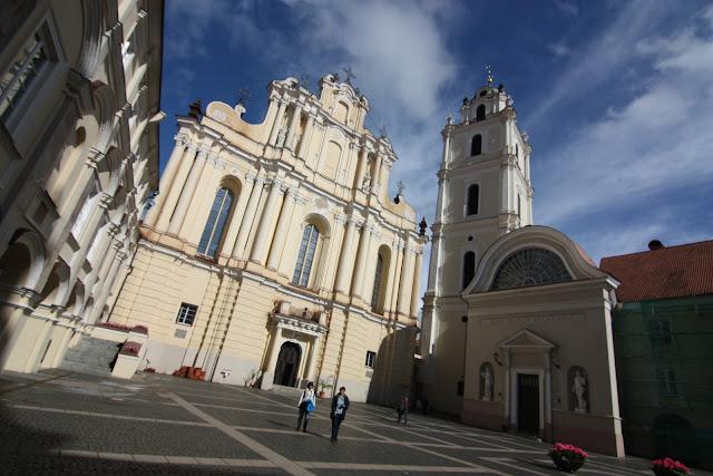 Vilnius, Vilna, Lituania, Universidad, San Juan