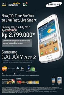 Harga Samsung Galaxy Ace 2 Android Smartphone