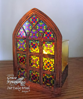 ODBD Products - ODBD Custom Cathedral Window and Border Dies, Cathedral Window - Marble