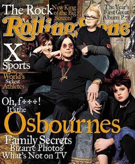 Sharon Osbourne Magazine Cover Pictures