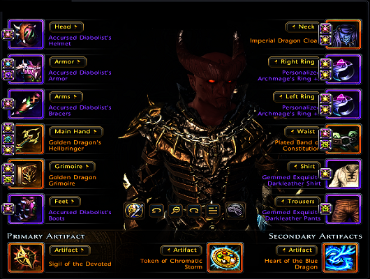 Neverwinter scourge warlock guide full dps build for sw fury mod 5