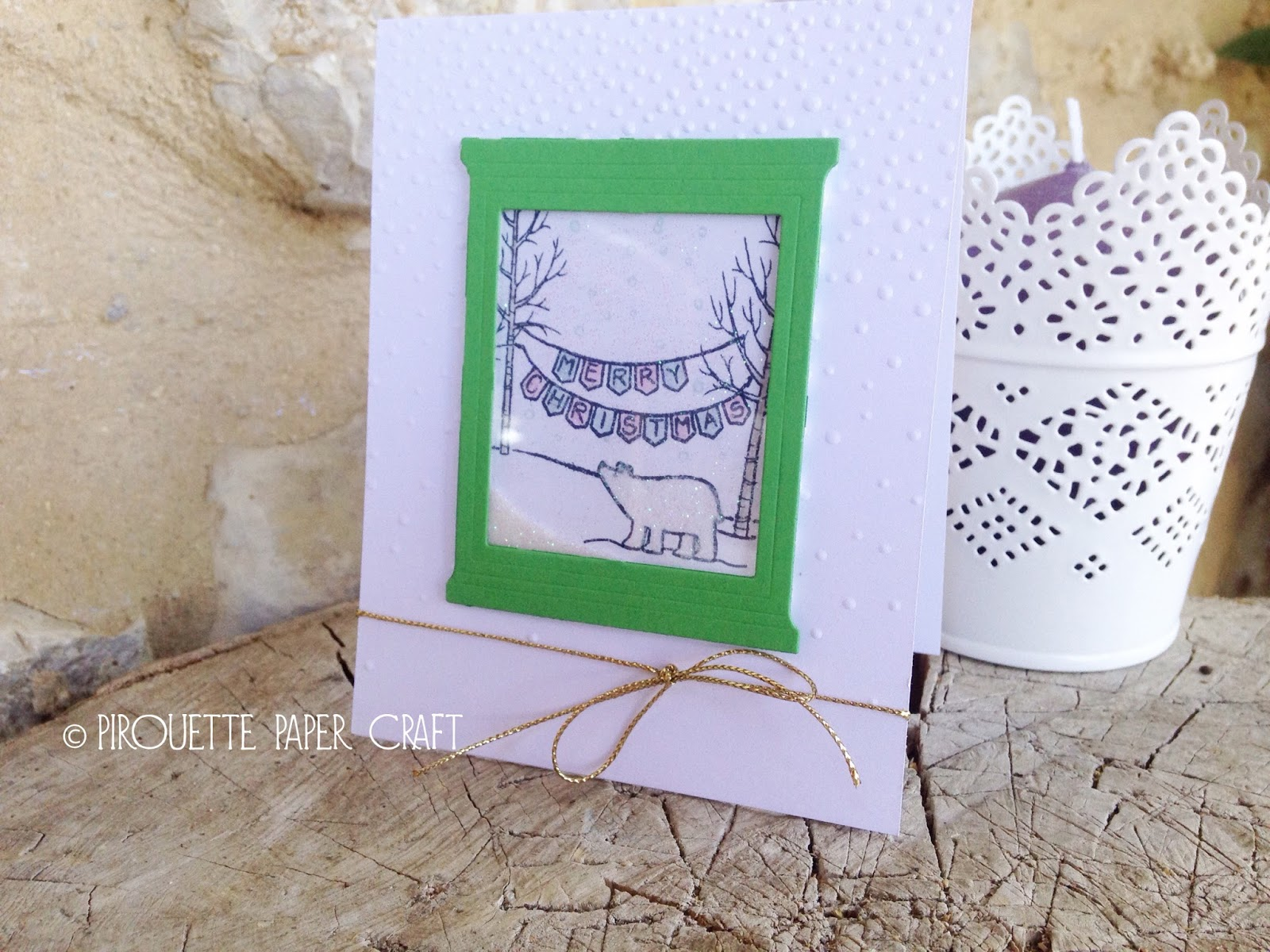 Shaker Window Christmas Card | Video Tutorial - Sarah Lancaster ...