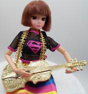 diy barbie blog: dollar store barbie guitars