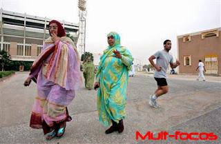 Mulheres da Mauritânia