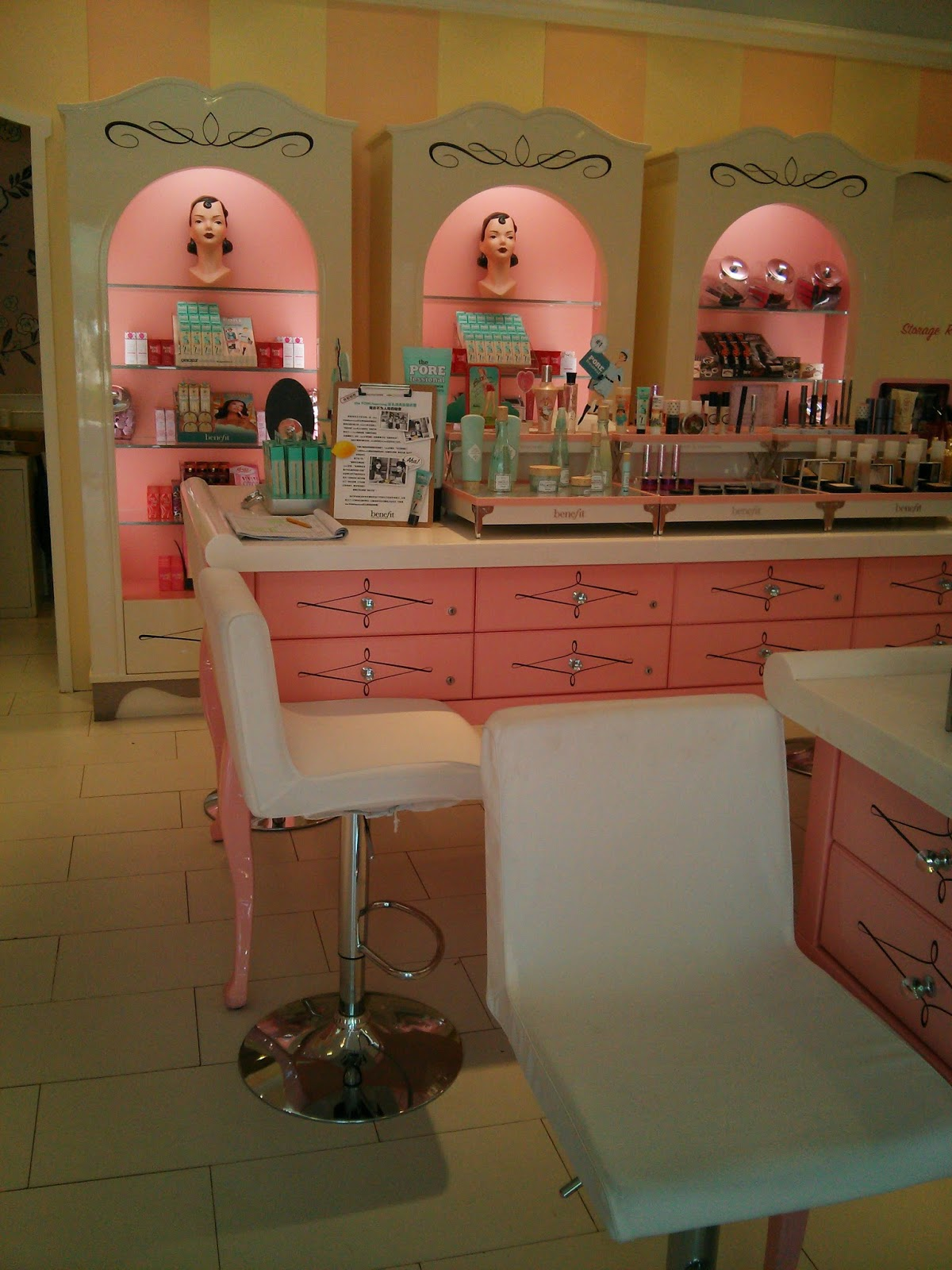 Benefit Cosmetics in Sanlitun Village