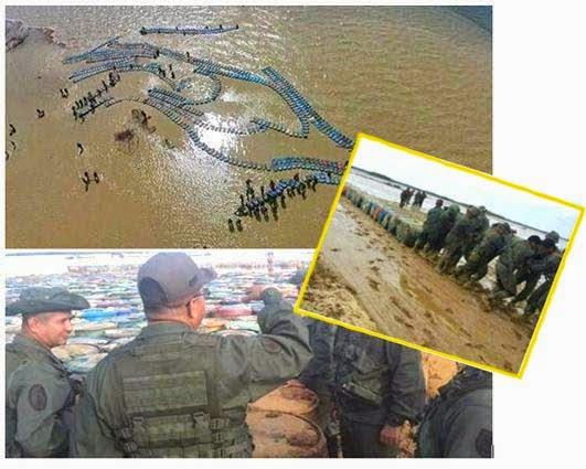 Fotos contrabando de gasolina río Limón y laguna Sinamaica Venezuela