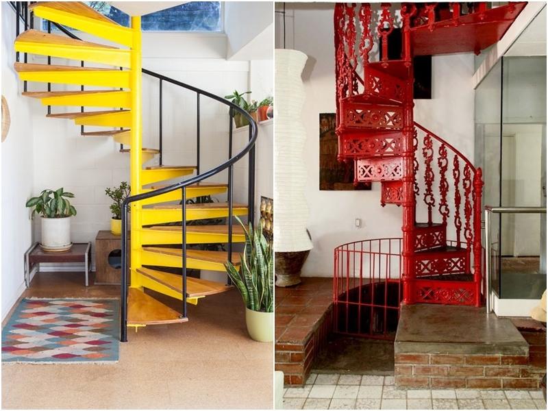 Elige la mejor escalera de caracol para interiores amor - Decoracion escaleras de interior ...