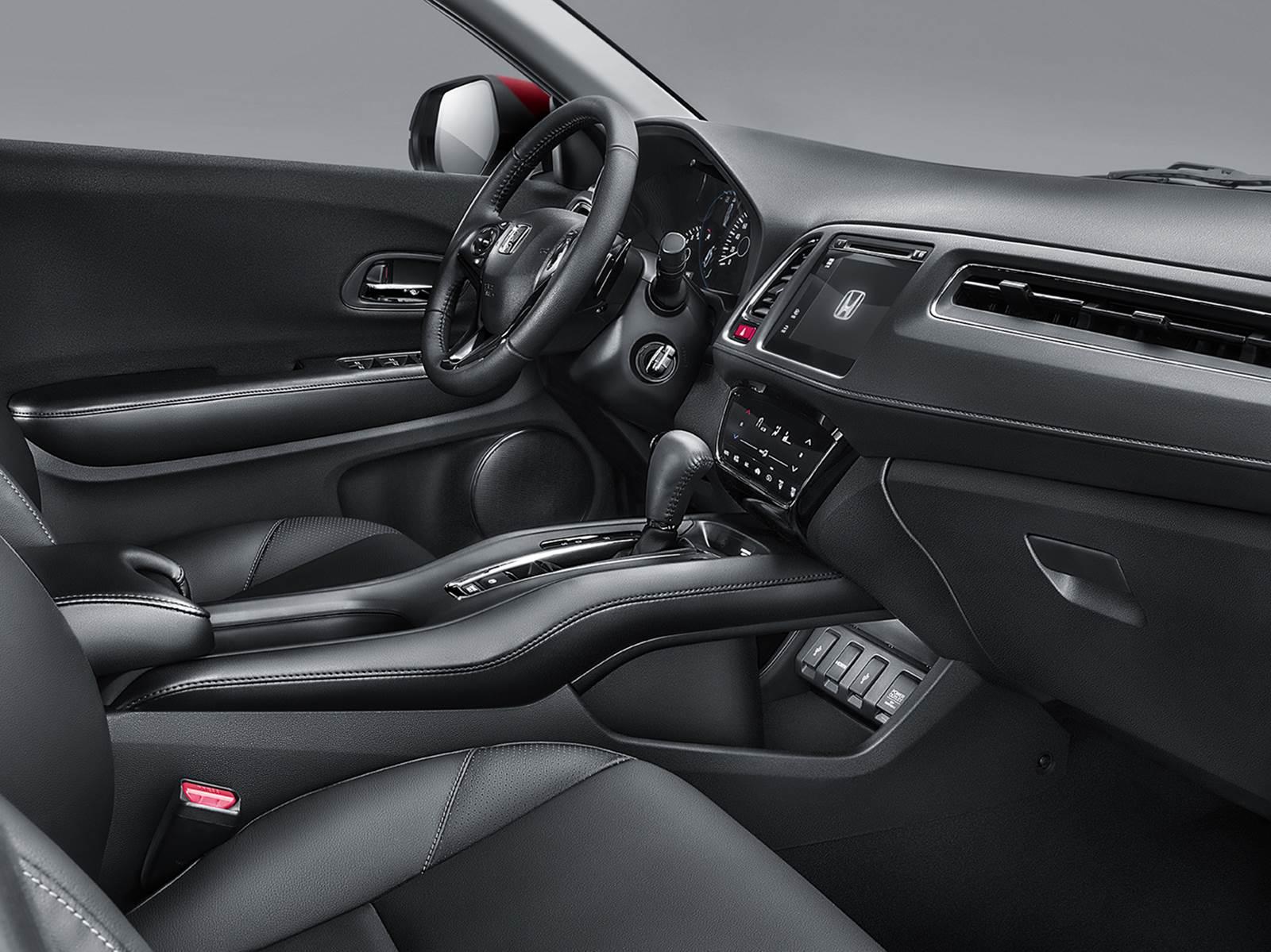 Novo Honda HR-V 2015 - concorrente do EcoSport - interior