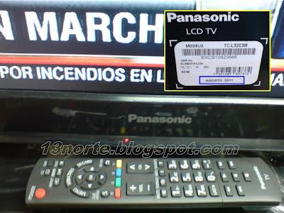 Control Remoto del Panasonic TC-L32C3M