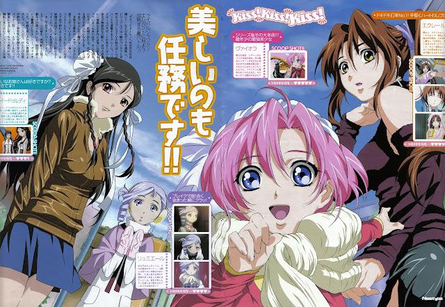 anime popular Kiddy Grade