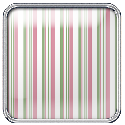 Free Rose Sage Striped Square Digital Scrapbook Brad 44