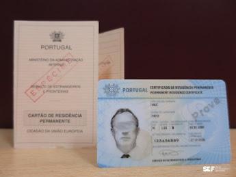 SEF vai emitir novo Cartão Permanente de Cidadão da União Europeia