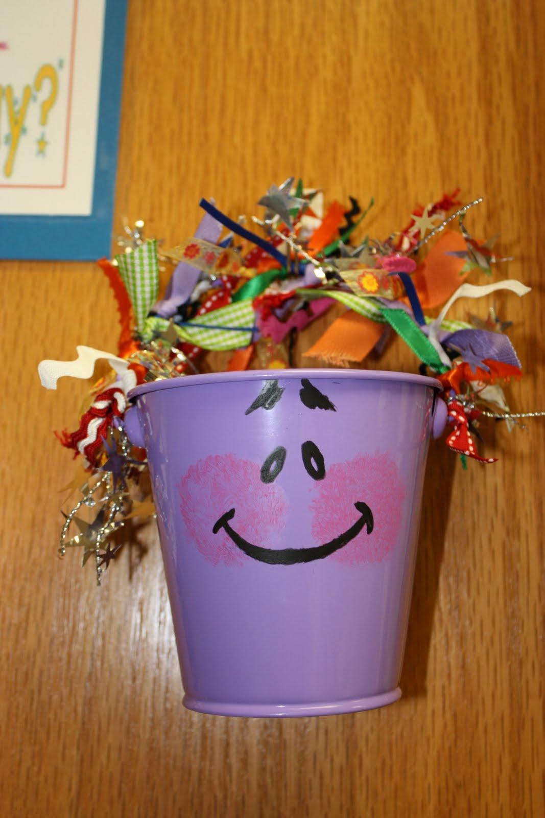 bucket filler Introduced bucket filling & read have you filled a bucket today checked for understanding via discussion and exploration of ways that they can fill buckets ask students about how they.