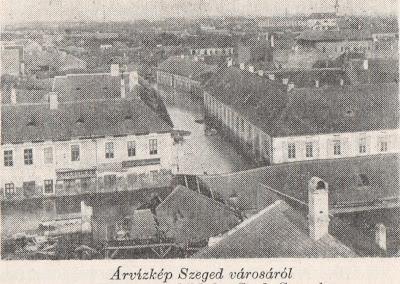 Árvízkép Szeged városáról