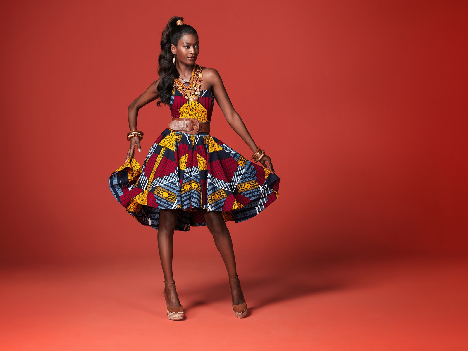 Bland Au Congo Le Pagne Et La Mode