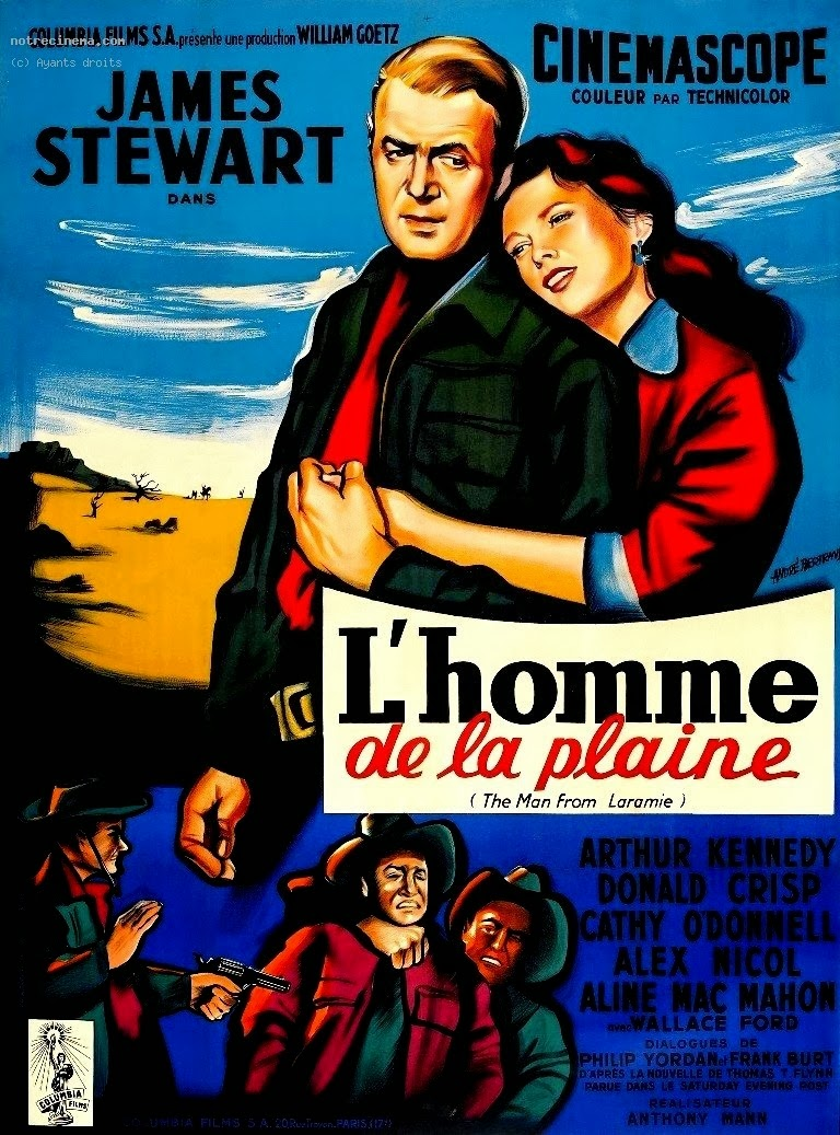 The man from Laramie James Stewart vintage film poster print