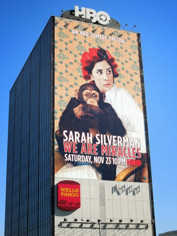 Giant Sarah Silverman We Are Miracles billboard