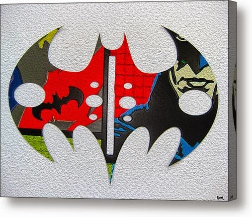 The Dark Knight car magnets