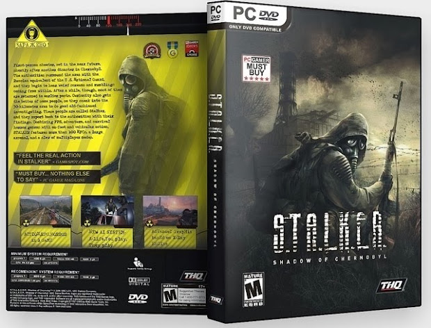 S.T.A.L.K.E.R. Shadow of Chernobyl box art cover.